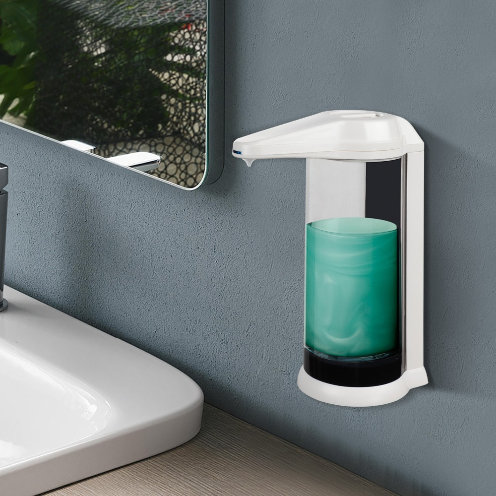 FREE-STANDING AUTOMATIC SOAP DISPENSER AUTO HANDS FREE COUNTER-TOP BATHROOM