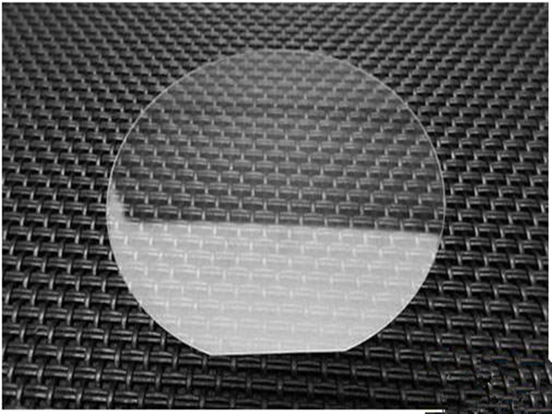 Sapphire Square-Al2O3 Single crystal substrate-D50.8*0.3mm-glasfolie-Epitaxial coating-double polishingSapphire Square-Al2O3 Single crystal substrate-D50.8*0.3mm-glasfolie-Epitaxial coating-double polishing