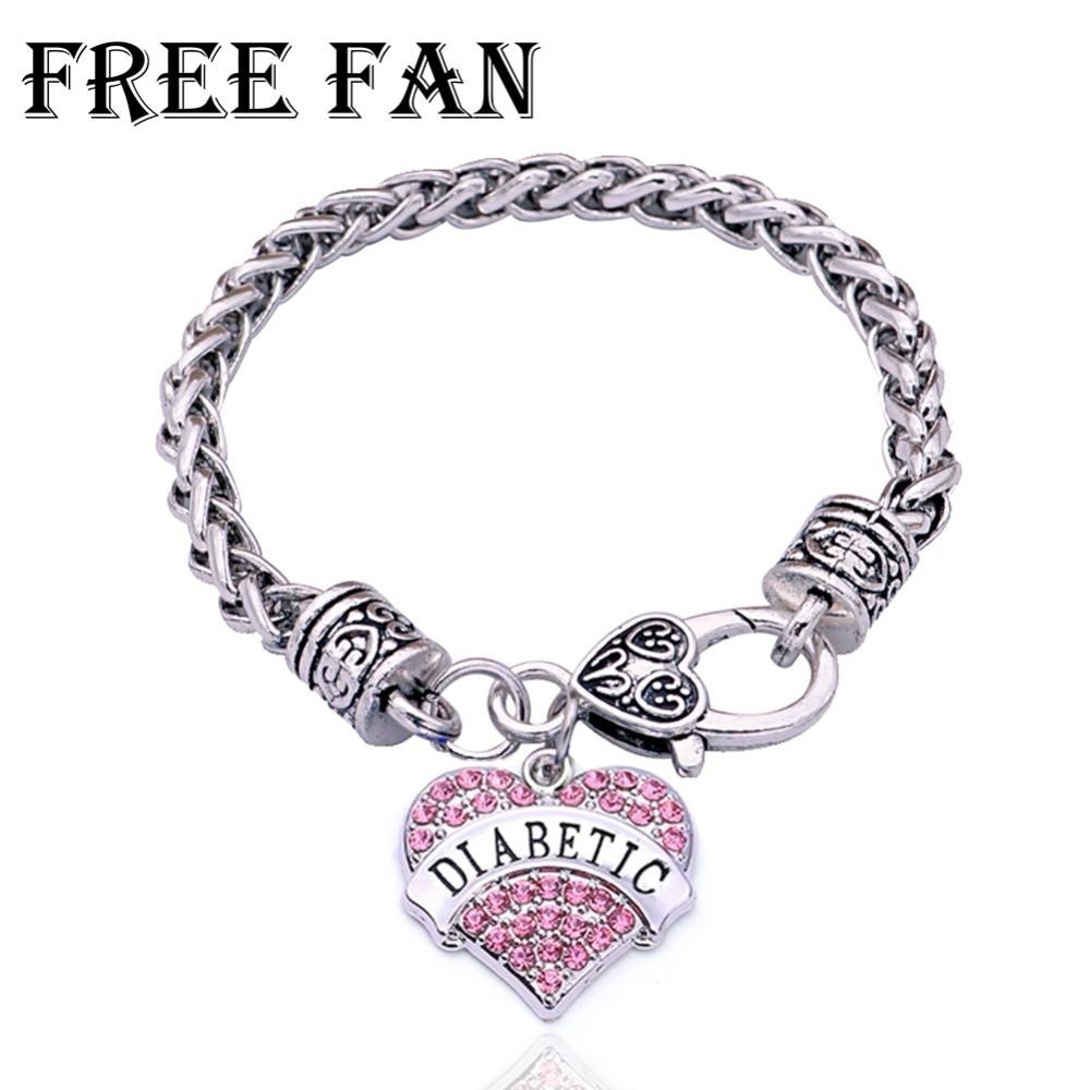 Fan Custom Diabetes Medical Bracelet