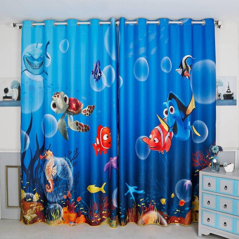 GFCGFGDRG Karikatur-Auto-Printed-Fenster-Vorhang Rod-Taschen Curtain Panels f/ür Kinder Schlafzimmer