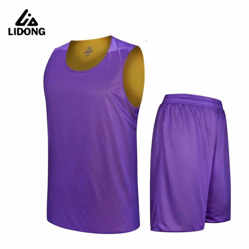 uniformes kits roupas esportivas dupla face basquete jerseys ternos personalizados