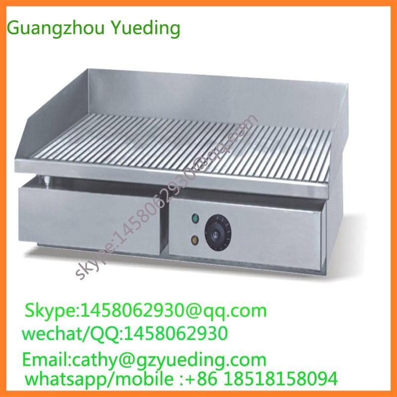 Appareil de cuisine gril électrique gril en fonte gril commercial utilisé produit extérieur intérieur grille supérieure électrique