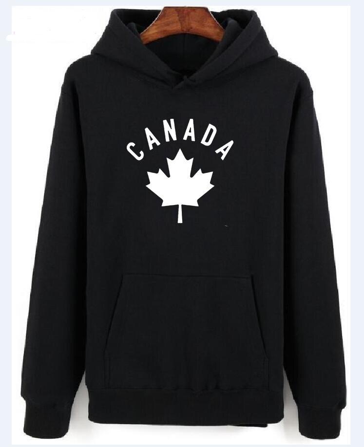Canada 2018 hoodies men sweatshirt sweat new streetwear clothing jerseys footballer tracksuit nation Canadians