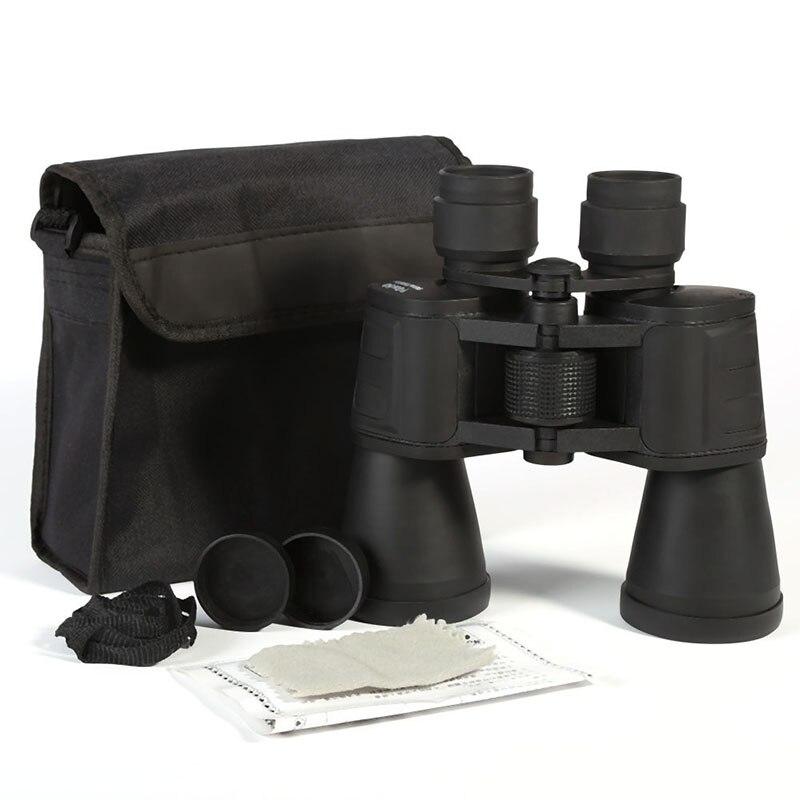 Central Adjustment Zoom Focus Portable Binoculars Multi-Coated 10x50 Night Vision Blue Membrane Telescope Hunting  цены