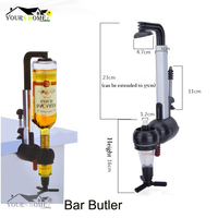 Wine Dispenser Machine Single Optic Rotary Alcohol Beverage Bar Butler Drinking Pourer Party Tools For Beer Soda Bar Accessory