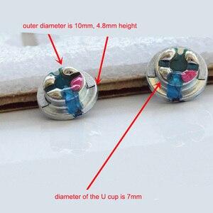 Image 3 - 2 개/몫 10mm 32 옴 헤드폰 드라이버 유닛 diy 3 웨이 밸런스드 이어폰 라우드 스피커 composited pure titanium diaphragm