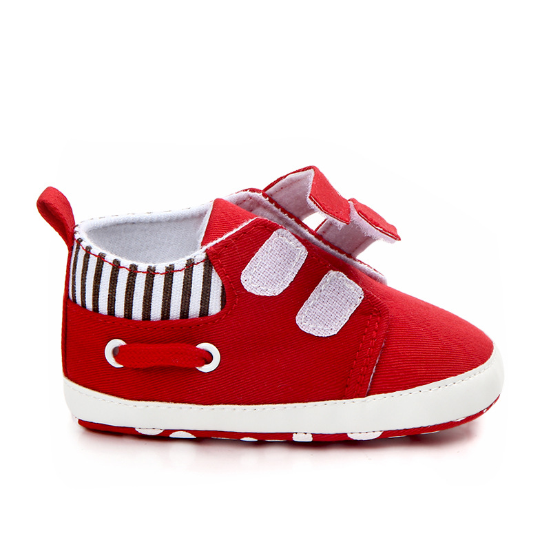 Canvas Solid Infant Babies Boys Girls Shoes Soft Soled Footwear For Newborns Casual Toddler Baby Sneaker Kids Prewalker | Happy Baby Mama
