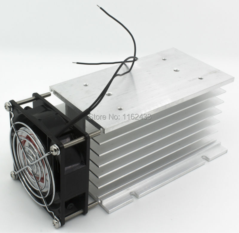 FHSH01F-150 150*100*80 mm 80A three phase solid state relay SSR aluminum heat sink radiator with 220VAC fan and protective coverFHSH01F-150 150*100*80 mm 80A three phase solid state relay SSR aluminum heat sink radiator with 220VAC fan and protective cover
