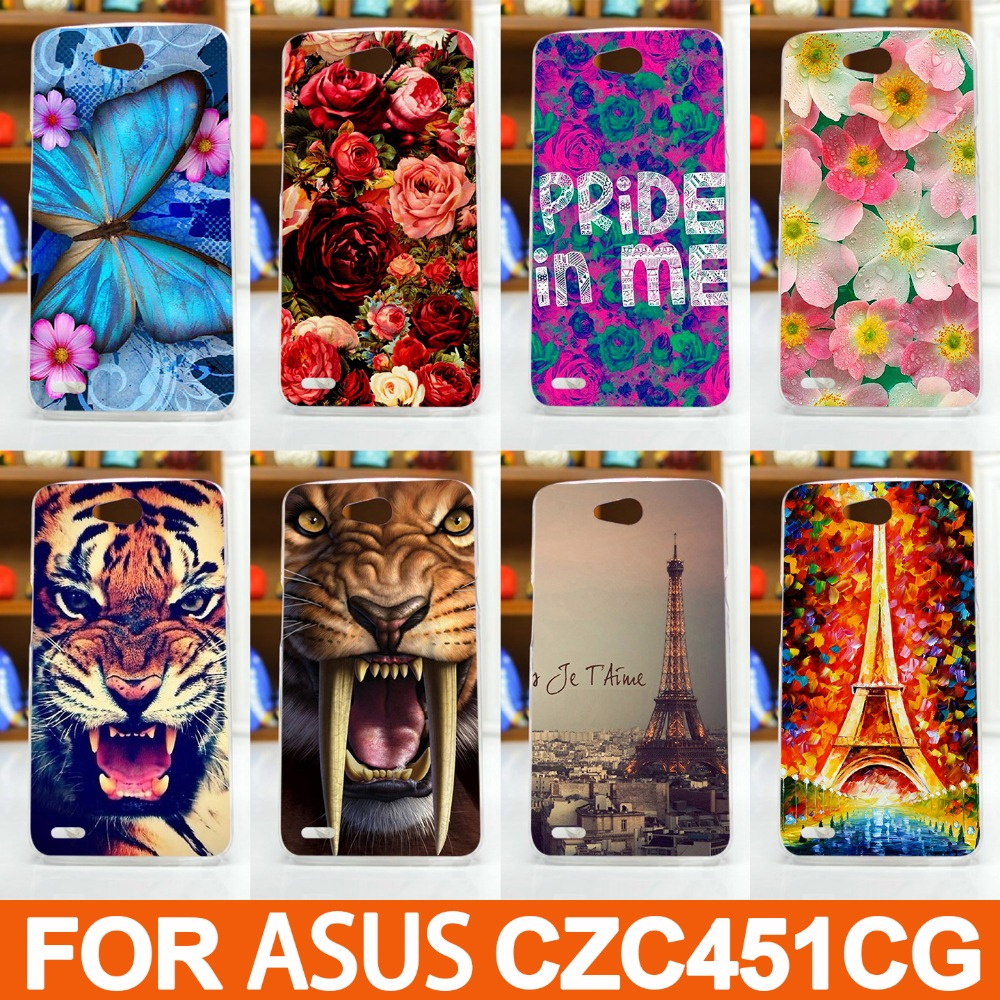 best cheap c2135 d0b16 Pattern Case For ASUS Zenfone C ZC451CG Original High Quality Phone ...