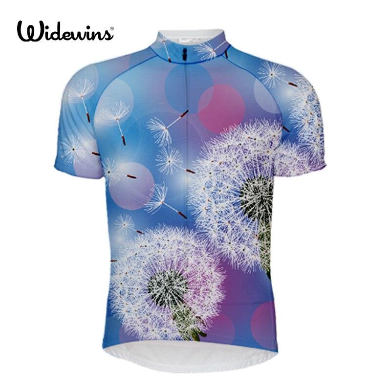 Widewins Novo Ciclista Dentro Estrangeiro SportsWear Dos Homens Camisa de Ciclismo Roupas de Ciclismo Bicicleta Camisa Tamanho 2XS PARA 6XL 5413