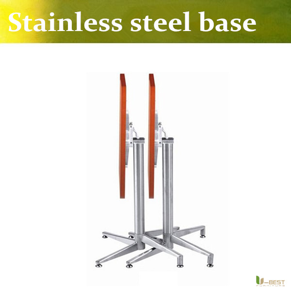 U Best Stainless Steel Coffee Table Base Bar Table Leg Hardware Table Frame Polished Stainless Steel Folding Table Foot