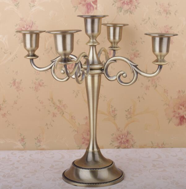 Candle Holder 5 arms Candle Stand Wedding Event Candelabra ...