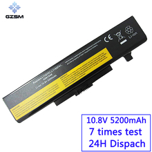GZSM Laptop battery Y480 for Lenovo  G480 G485 G585 G580 Y480N IY485 Y485N Y480P Y580 Y580N Y485P Z380 Z480  Y580P Z580  battery цена