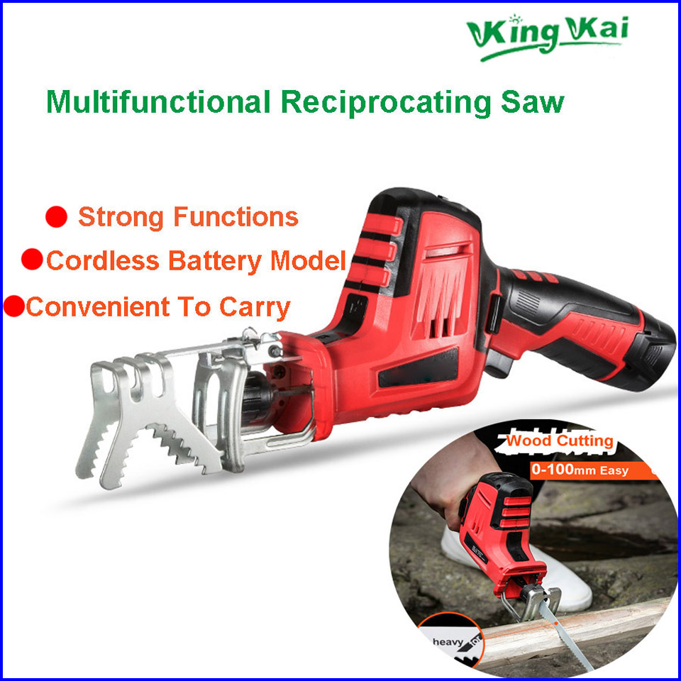 Lithium Battery Cordless Electric Reciprocating Saw  (14)