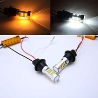 Mayitr 2pcs T20 7440 2835 42 SMD Led Light 1000LM 20W Car LED Turn Signal Light