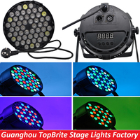 2016 Hot Sales Led Par Can 54X3W RGBW Led Par Light Strobe DMX Controller Party Disco