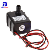 1 PC DC 12 V Ultra Tenang Brushless Motor Pompa Menyelam Qquarium Pro Pompa Air 240L/H Pompa Air(China)
