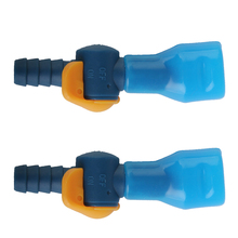 2pcs Outdoor Sports Bicycle Water Bag Replacement Bite Valve Hydration Pack Mouth Suction Piping Nozzle for 7.5-8.5mm Water Pipe camelbak motherlode hydration cargo pack coyote big bite valve molle attachment back panel