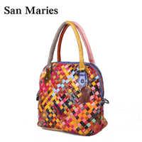 Stylish!New Fashion Designer Lady's Shoulder Bags 100% Genuine Leather Bag Women Messenger Bags Handbags