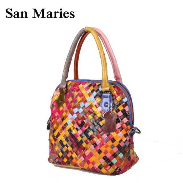 ee0860ba8be00 New Fashion Designer dame 100% Echtem Leder Tasche Frauen Messenger Bags  Handtaschen