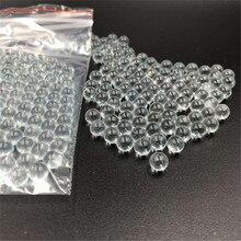 200 ピース 6 ミリメートルピンボールガラスボール撮影使用余分な硝子ガラス BB 弾丸ボール円形粒子ペレット狩猟