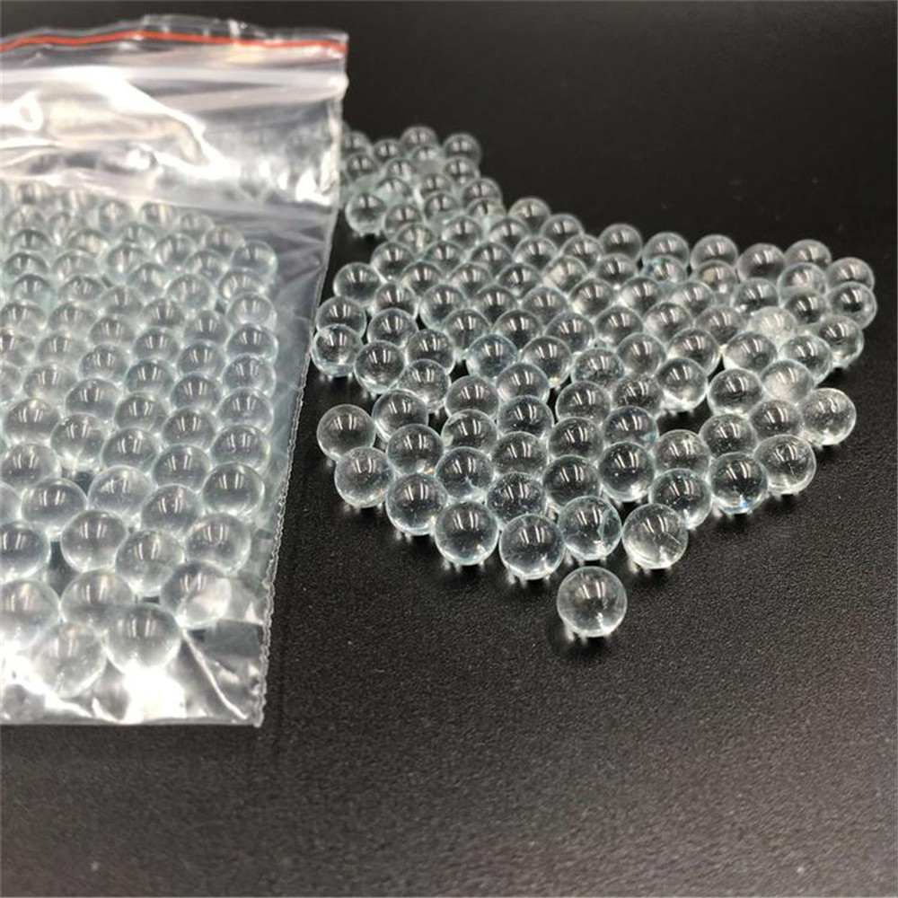 200pcs 6mm Pinball Glass Ball  Use For Shooting  Extra Hyaline Glass BB Bullets Ball Circular Particle Pellets Hunting