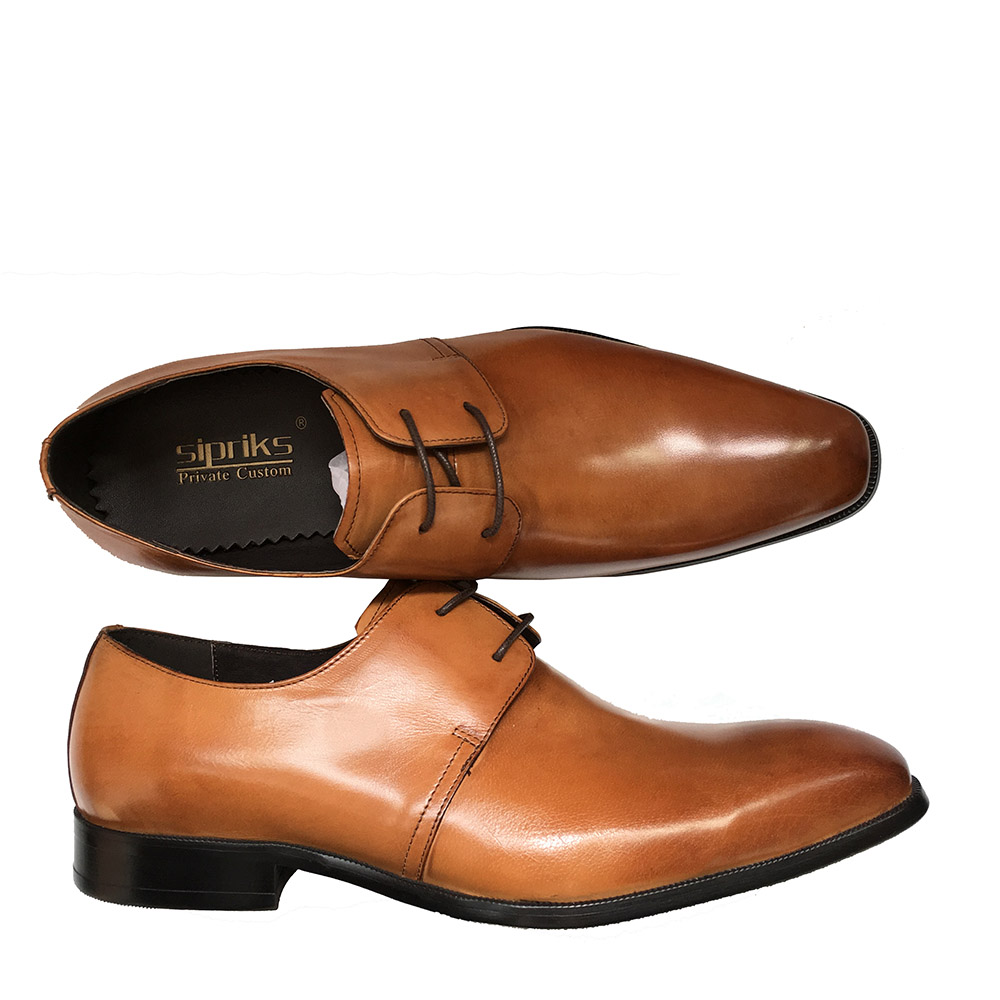 Brown Light dress shoes catalog photo