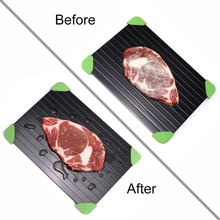 2018 Fast Defrosting Meat Tray chopping board Rapid Safety Thawing For Frozen Food Kitchen knives and accessories