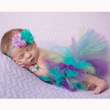 Infant Princess Tutu and Headband 1-3m
