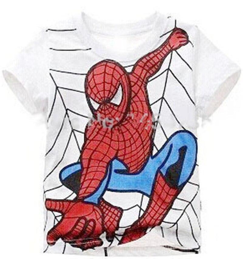 Camiseta Manga Corta Spiderman T.5