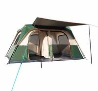 New outdoor two bedroom one living waterproof large 8 people 10 people 12 people camping tent