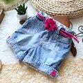 Лето дети в джинсы младенцы деним шорты для девочки свободного покроя брюки дети шорты jenas