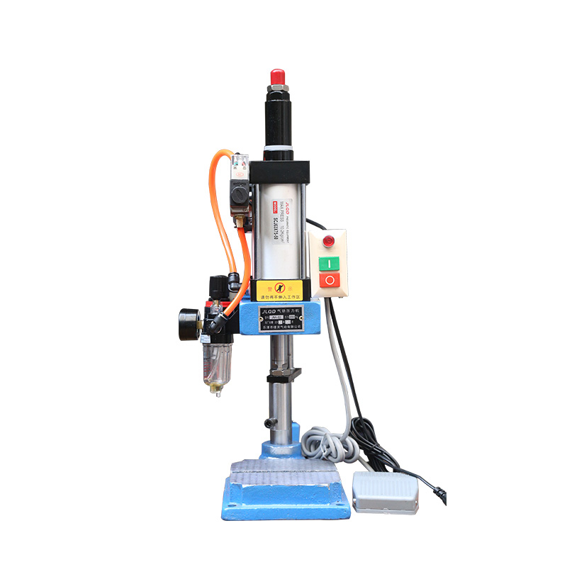 220V Miniature Pneumatic components press punch JNA50 Adjustable 0-200kg Single column type Air Stamping Punching Machine Y220V Miniature Pneumatic components press punch JNA50 Adjustable 0-200kg Single column type Air Stamping Punching Machine Y