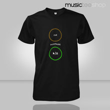 2015 short sleeved Men T-shirt bar night DJ pioneer CD Pioneer Play Pause Cue turntables TOP Tees camisa masculina(China)