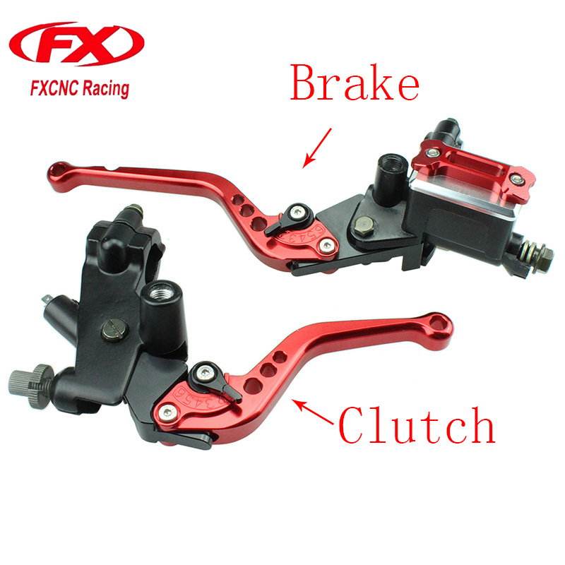 FX CNC Motorcycle Master Cylinder Reservoir Hydraulic Brake Cable Clutch Levers For YAMAHA YZF R125 R15 R25 MT 125 WR125X WR125R fxcnc 7 8 22mm motorcycles master cylinder brake clutch levers for yamaha yzf r125 mt125 wr125x wr125r 125 300cc hydraulic brake