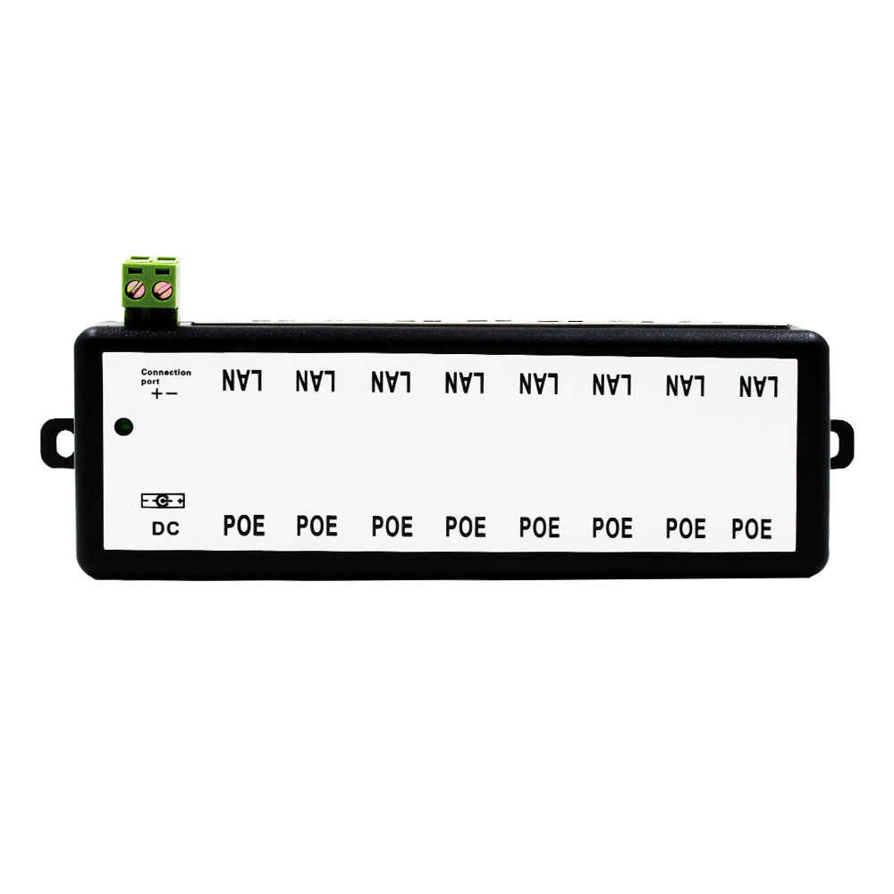 Detail Feedback Questions About 4 Port Poe Injector For Cctv Ethernet Wiring Transformer Further Camera Diagram Also Ports 8 Video Surveillance Ip Cameras Power Over Ieee802