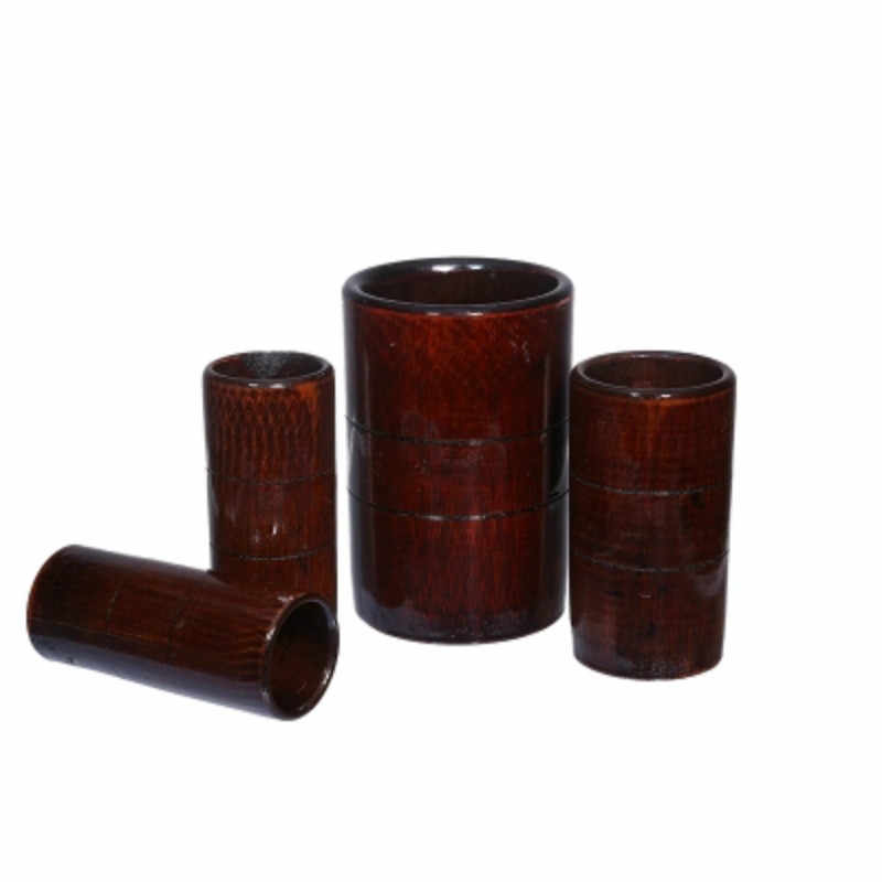 10/12/14/16pcs Tradition Chinese Carbonized bamboo wood cans suction tanks  cups Fire Cupping Set Acupuncture Therapy Treatment