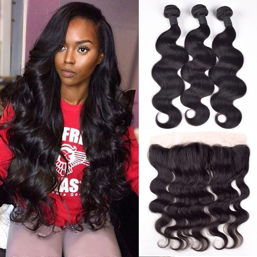 Aliexpress com buy malaysian body wave with closure 13x4 ear to ear lace frontal closure with bundles malaysian virgin hair with closure human hair from