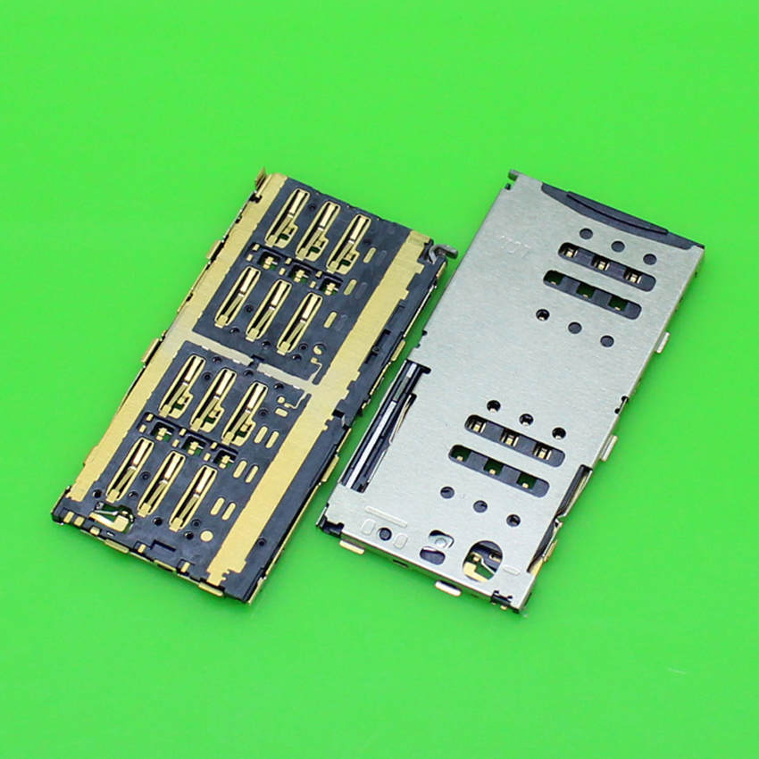 1 Piece for Meizu Meilan Note M463M sim card socket tray reader holder slot replacement connector.KA-156
