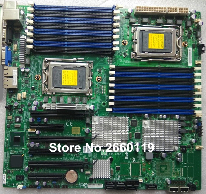 For H8DGI-F DDR3 G34 system motherboard fully tested image