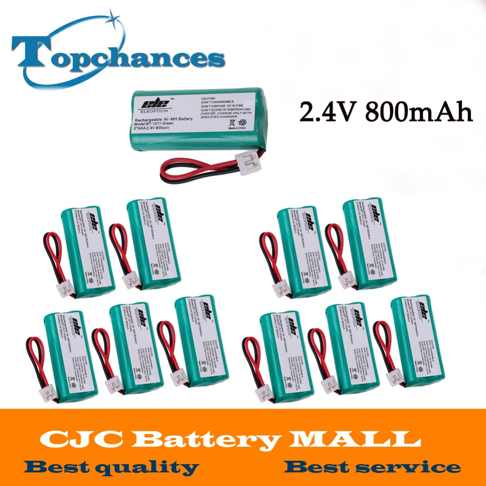 High Quality 2.4V 800mAh Ni-MH Cordless Phone Battery for Uniden BT-1011 BT-1018 BT1011 BT1018 BT-694 US