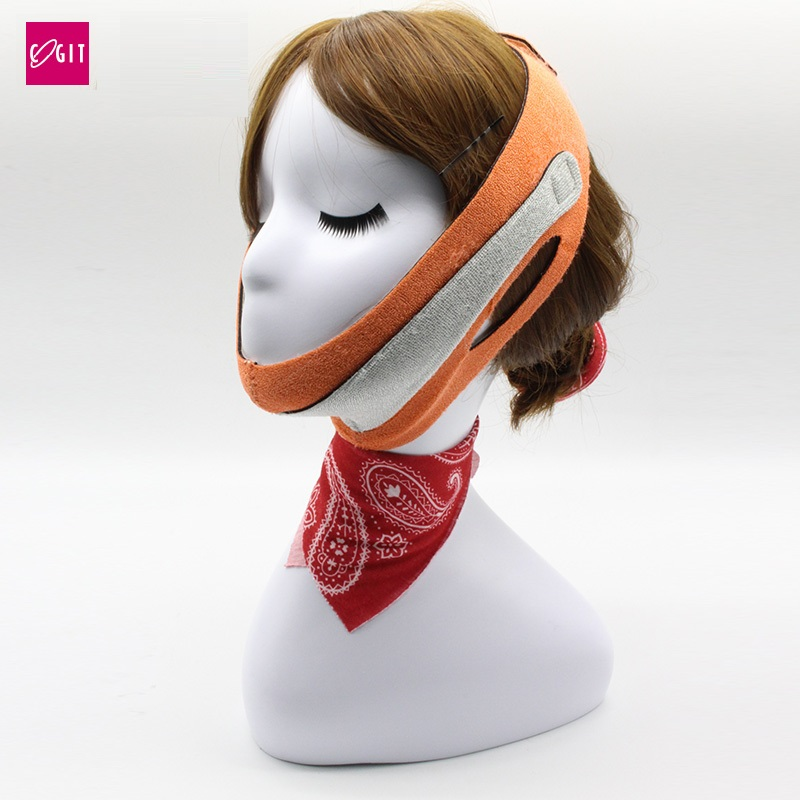 High quality Japan Cogit Beauty Face Lift mask for double chin wrinkle Lifting Face jowly Elastic Line Belt Strap Face sliming цена