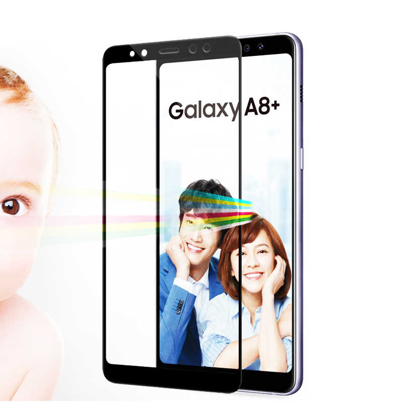Verre trempé complet pour Samsung Galaxy J4 J6 J8 2018 J3 J5 J7 2017 J5 J7 Prime J7 Duo Film protecteur d'écran