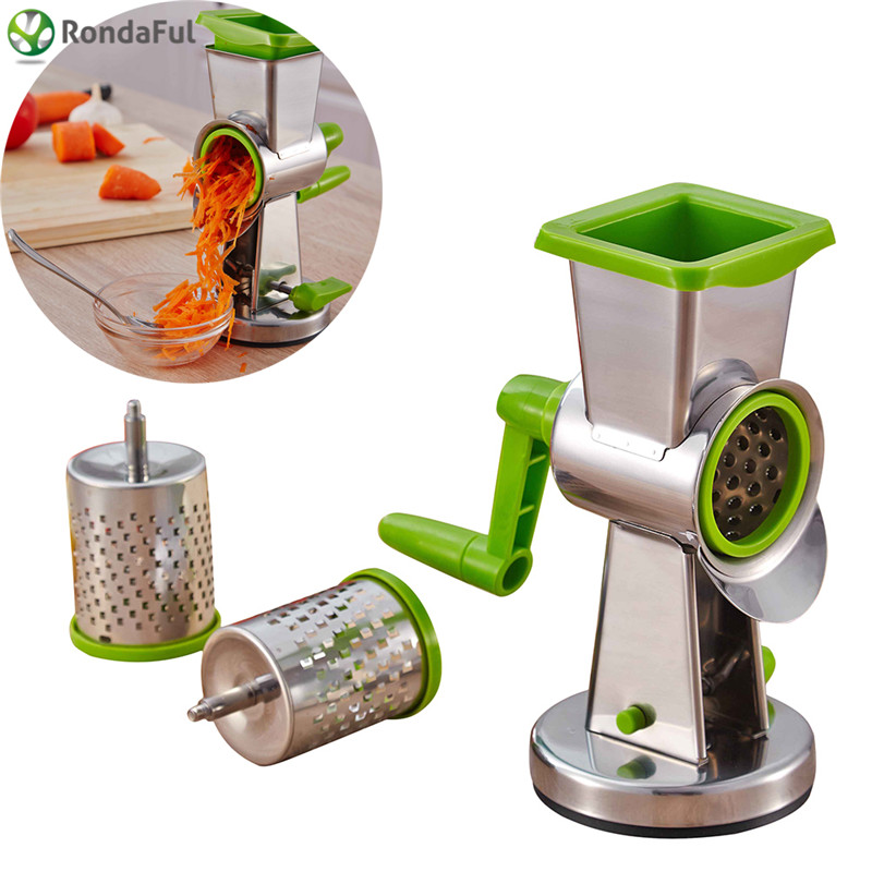 Stainless Steel Multifunction Stir Planing Mill for Vgetables / Nuts / Carrot / Cheese / Chocolate / Frutis Kitchen Tools
