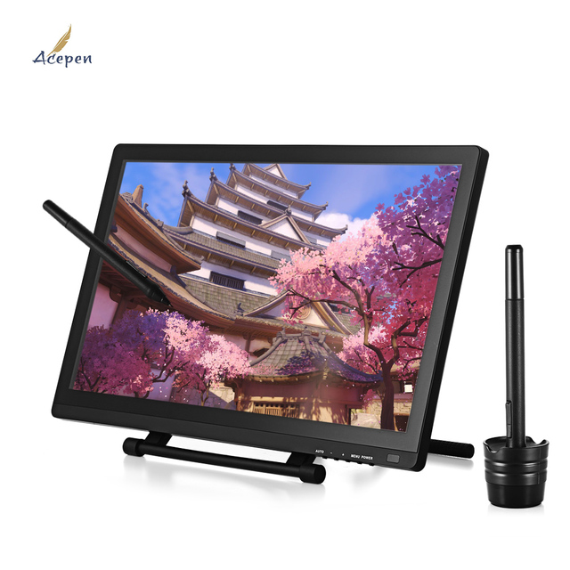 acepen ap 2150 21 5 inch ips drawing tablet graphics monitor 2540lpi