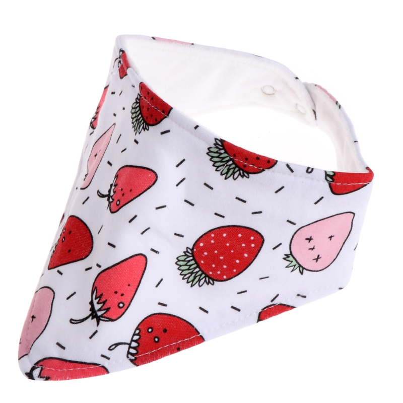 Infant Baby Unisex Bibs Feeding Saliva Towel Dribble Triangle Bandana Head Scarf W15