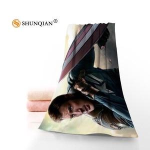 Высокое Качество Капитан Америка полотенце для лица/банное полотенце на заказ микрофибра тканевые полотенца s Размер 35 x75cm, 70x140cm