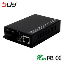 Фотография factory supply 20km Single mode and dual fiber power over Ethernet fiber optic POE switch