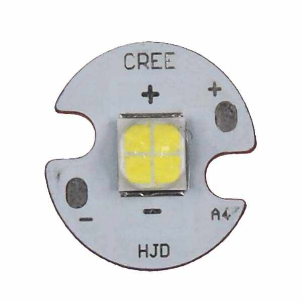 20W CREE XHP50 1A J4 6500K Cool White 6V LED Emitter with 16mm Aluminm Star