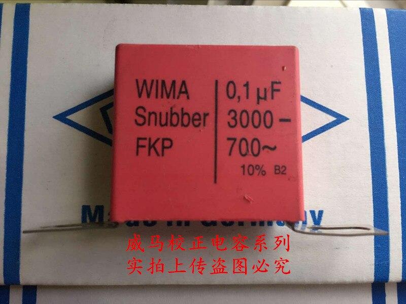 2019 Offre Spéciale 10 pcs/20 pcs Allemagne WIMA Snubber FKP 3000 V 0.1 UF 3000 V 104 100n fer pied Audio condensateur livraison gratuite